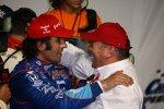 Dario Franchitti und Chip Ganassi