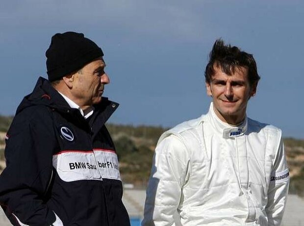 Peter Sauber und Pedro de la Rosa