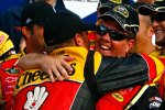 Clint Bowyer (Richard Childress) mit Crew-Chief Shane Wilson