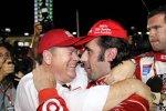 Chip Ganassi und Dario Franchitti