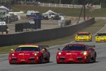 Die Ferraris im Parallelflug