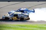Kurt Busch (Penske) crasht mit David Ragan (Roush)