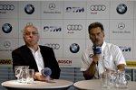 Hans-Werner Aufrecht, Mario Theissen (BMW Motorsport Direktor)