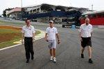 Michael Schumacher (Mercedes) und Renningenieur Andrew Shovlin