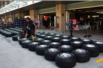 Bridgestone-Reifen bei Red Bull