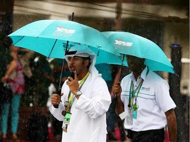 Regen in Abu Dhabi