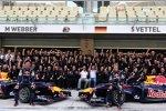 Gruppenfoto bei Red Bull