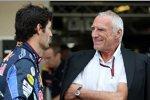 Mark Webber (Red Bull) und Dietrich Mateschitz (Red Bull-Boss)