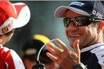 Felipe Massa (Ferrari) und Rubens Barrichello (Williams)