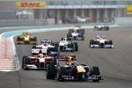 Mark Webber (Red Bull) vor Felipe Massa (Ferrari)