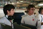 Sergio Perez und Esteban Gutierrez (Sauber)