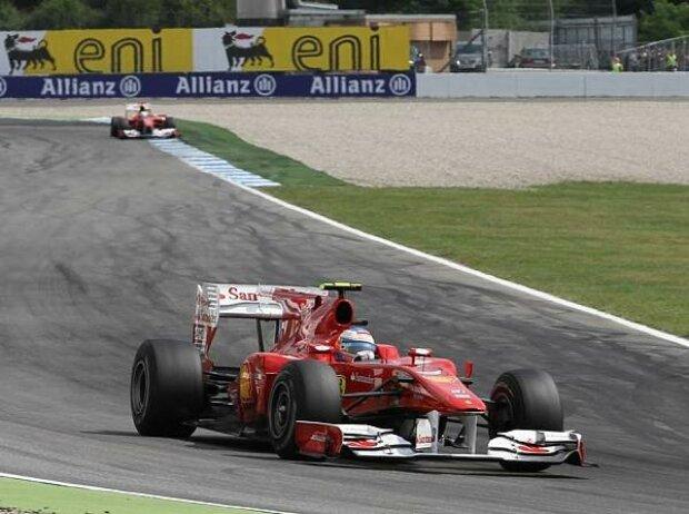 Felipe Massa, Fernando Alonso