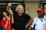 Wette verloren: Richard Branson mit Tony Fernandes