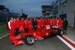 Gruppenfoto mit den F1 Clienti