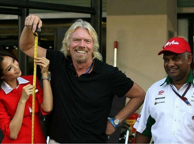 Richard Branson und Tony Fernandes