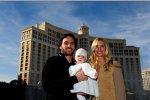 Jimmie Johnson mit Familie