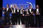Präsident Jean Todt mit den FIA-Weltmeistern 2010