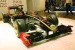 Im schwarz-goldenen -Stil: die 2011er-Lackierung, präsentiert am 2010er-Renault
