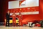 Stefano Domenicali, Fernando Alonso, Felipe Massa