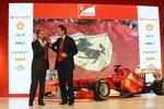 John Elkann und Luca di Montezemolo (Präsident)