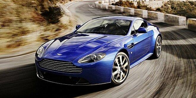 Aston Martin V8 Vantage S Bietet Mehr Leistung