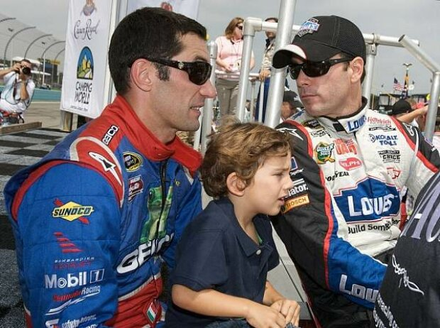 Jimmie Johnson, Max Papis