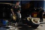 Reifenwäsche