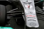 Mercedes-Vorderradaufhängung
