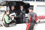 Danica Patrick und Marco Andretti