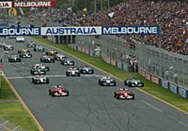 Start in Melbourne 2004