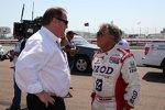 Zwei US-Größen: Chip Ganassi und Mario Andretti
