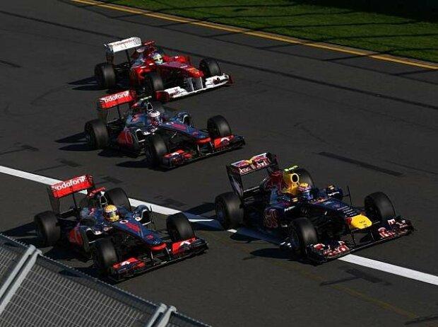 Sebastian Vettel, Lewis Hamilton