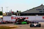 Der Überschlag von Marco Andretti