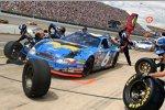 2005 in Michigan: Mark Martin an der Batmobil-Box