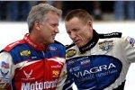 Zwei Veteranen: Ricky Rudd und Mark Martin (Loudon 2005)