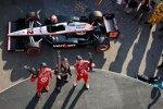 Will Power, Scott Dixon und Dario Franchitti - die Top 3 im Rennen