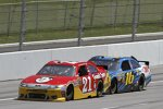 Trevor Bayne (Wood), Greg Biffle (Roush)