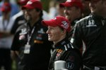 Mike Conway (Andretti) in der Victory Lane