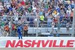 Carl Edwards (Roush) holte seinen vierten Sieg in Nashville