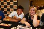Das Conquest-Duo Sebastian Saavedra und Pippa Mann