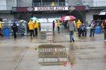 Regen in Indianapolis