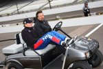 Mike Conway und Michael Andretti frieren