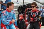 John Andretti und Marco Andretti