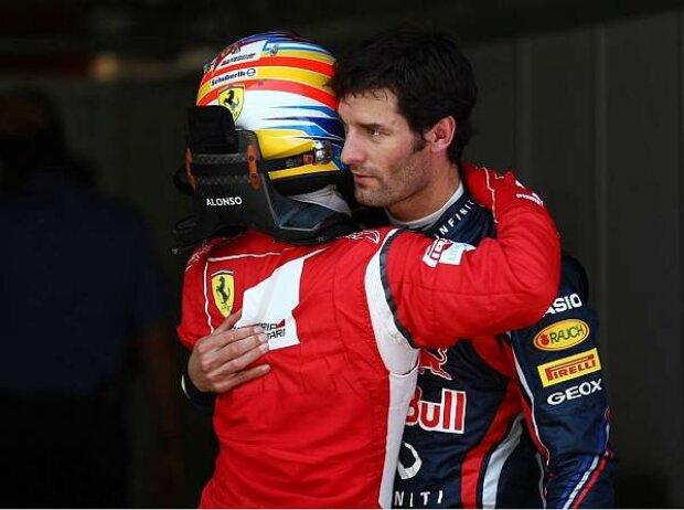 Fernando Alonso und Mark Webber
