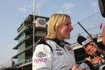 Pippa Mann steht im Indy 500