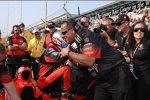 Riesenjubel bei Marco Andretti