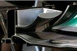 Frntflügeldetail von Mercedes