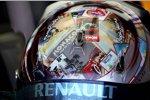Alte Poster auf dem Helm: Sebastian Vettels (Red Bull) Design für Monaco
