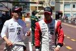 Timo Glock und Jerome D'Ambrosio (Marussia-Virgin)