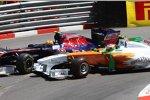 Jaime Alguersuari (Toro Rosso) und Paul di Resta (Force India)